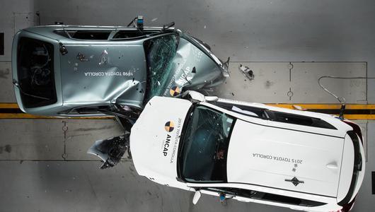 Czy po tym crash tescie wciąż będziesz fanem starych samochodów?