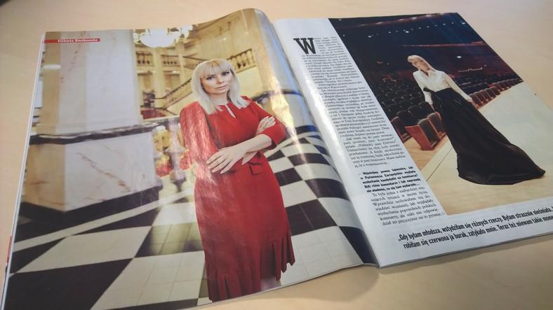 """Wywiad z Elżbietą Bieńkowską w magazynie """"Viva!"""""""