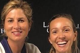 NJIH DVE NISTE OČEKIVALI DA VIDITE ZAJEDNO Kada se pojave jednostavne i negovane Jelena Đoković i Mirka Federer defintivno zrače