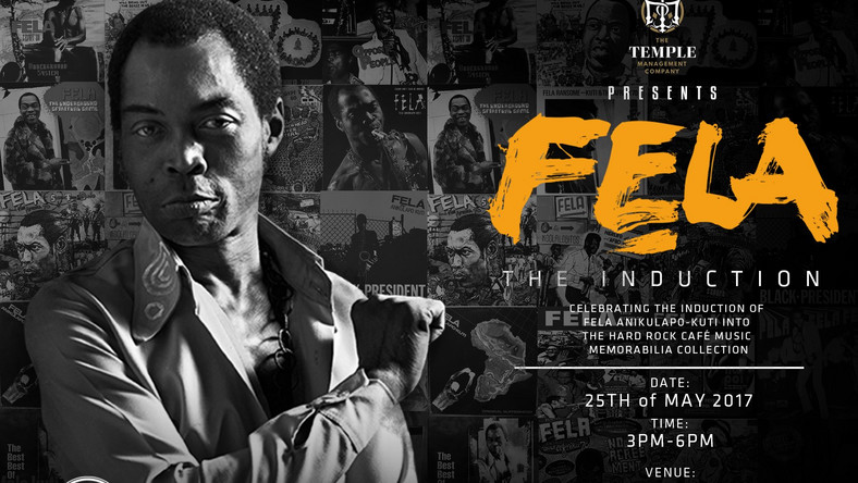 Fela Kuti Afrobeat legend to be inducted into Hard Rock