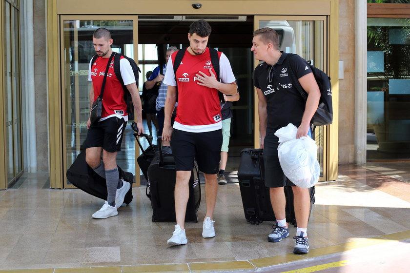 24.09.2018 WYJAZD REPREZENTACJI NA TRZECIA RUNDE DO TURYNU POLSKI FIVB VOLLEYBALL MEN'S WORLD CHAMPI