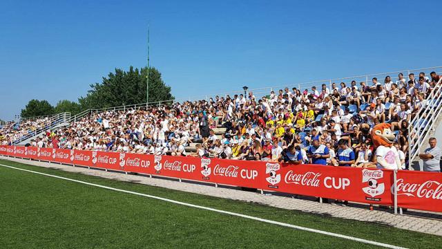 Tribine na stadionu Fudbalskog saveza Beograda su bile prepune