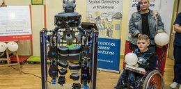 Ten robot pomaga chorym dzieciom