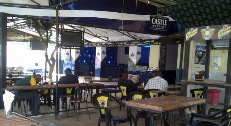 The inside of a pub in Nairobi. Proposal to cap number of bars in the city at 3,000 (Twitter)