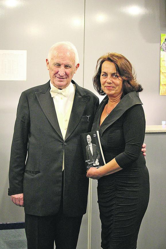 Matija Bećković i Tatjana Nježić