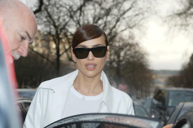 Irina Šajk u Parizu