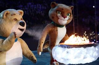 Ceremonia zamknięcia Zimowych Igrzysk Olimpijskich w Soczi 2014