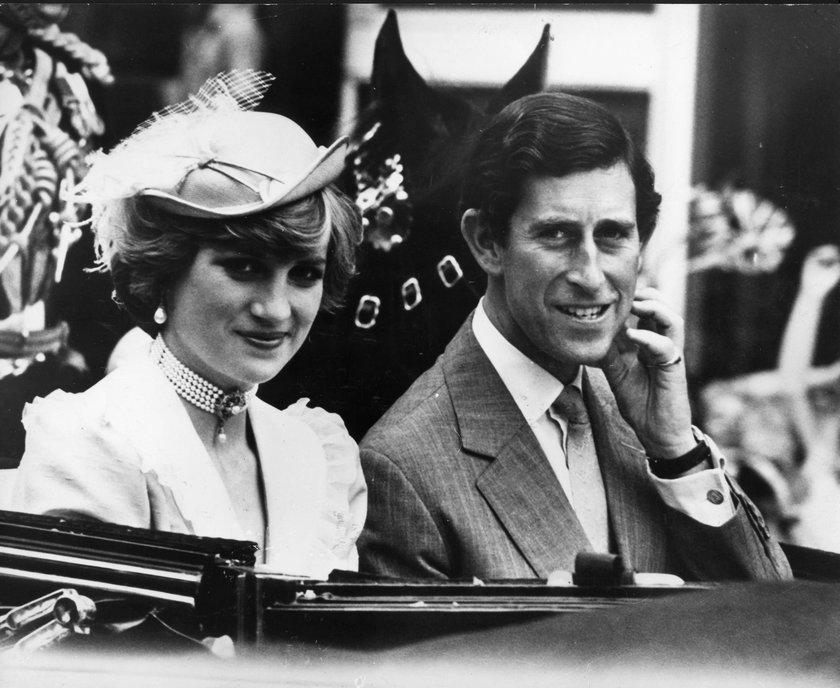 Księżna Diana i książęKarol
