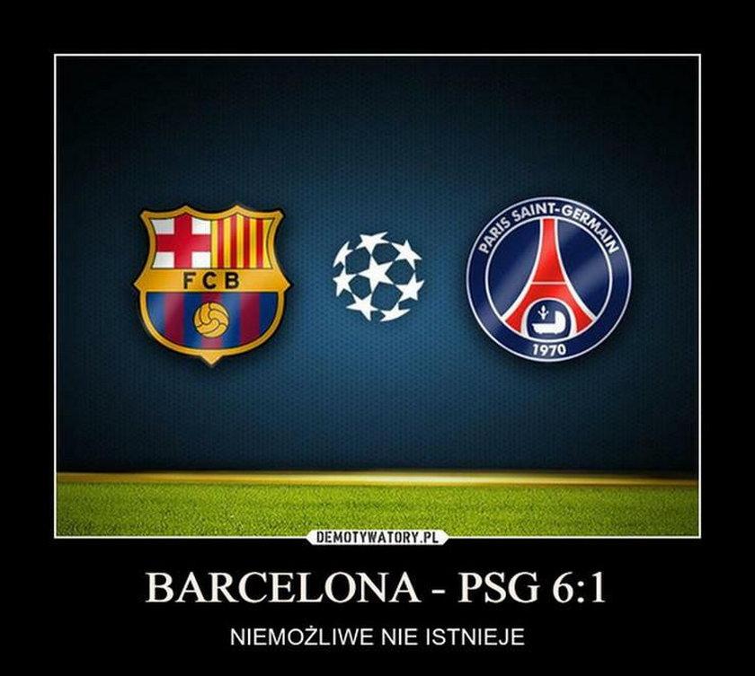 Memy po FC Barcelona – PSG w 1/8 finału Ligi Mistrzów. Cud na Camp Nou