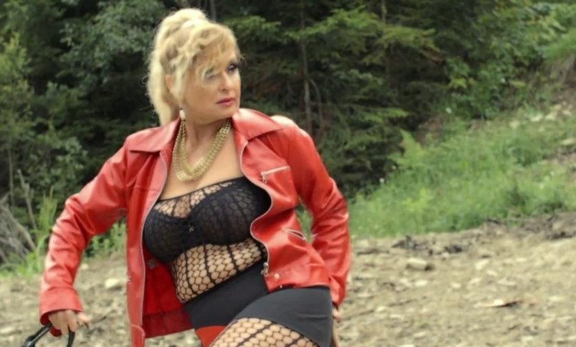 Ewa Kasprzyk jako prostytutka