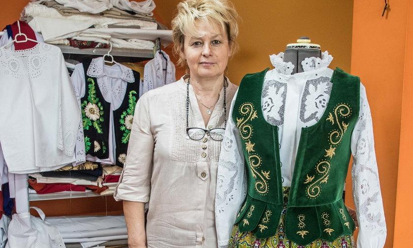 Pani Maria dba o to, by podhalańskie hafty nie wyginęły.