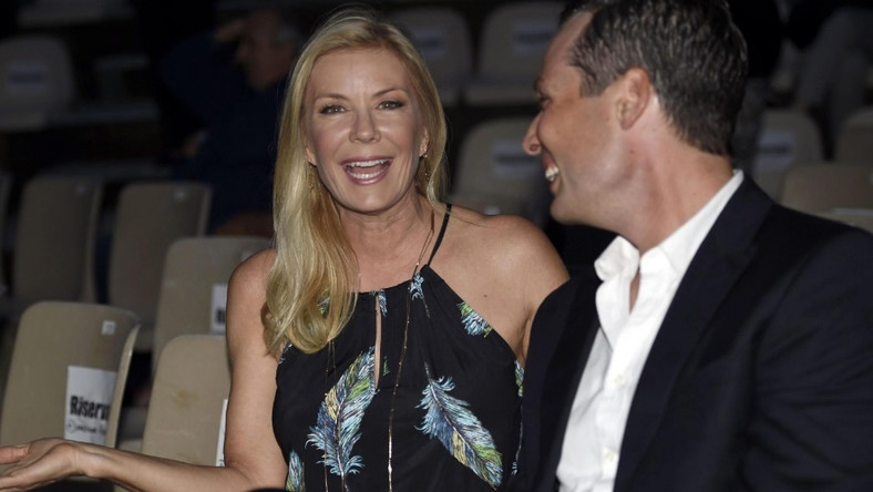 Katherine Kelly Lang i Dominique Zoid