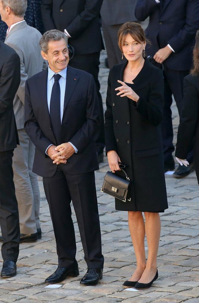 Karla Bruni i Nikola Sarkozi