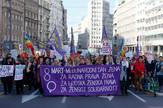 težak položaj žena03 protest osmi mart foto RAS Srbija M. Mitrović