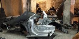 Kradzione części na giełdzie samochodów