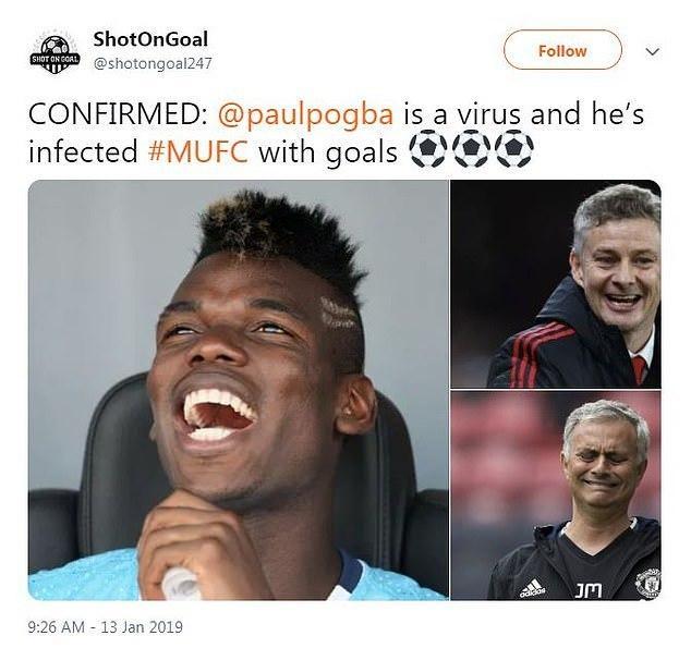 Twitter hails Pogba 3
