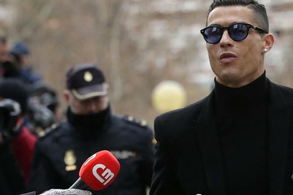 PRIZNAO KRIVICU Kristijano Ronaldo PRIHVATIO kaznu zatvora od dve godine i 19 milona evra za utaju poreza