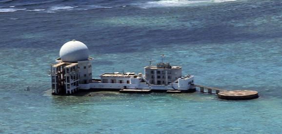 Greben Subi u arhipelagu ostrva Spretli
