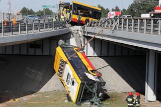 Sąd nie przedłużył aresztu dla kierowcy autobusu, który spowodował wypadek na moście Grota-Roweckiego
