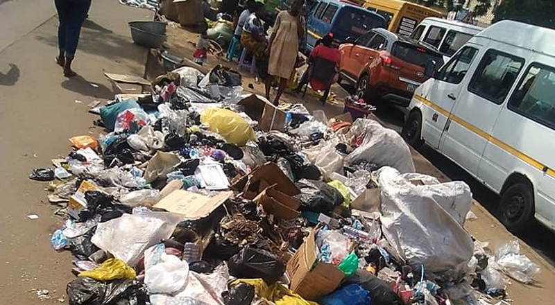 Filth engulfs Accra Central business district [Photos]