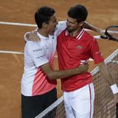 MOĆNO! Evo šta je Novak Đoković uradio nakon što je napustio teren posle totalno lude subote na rimskom mastersu!