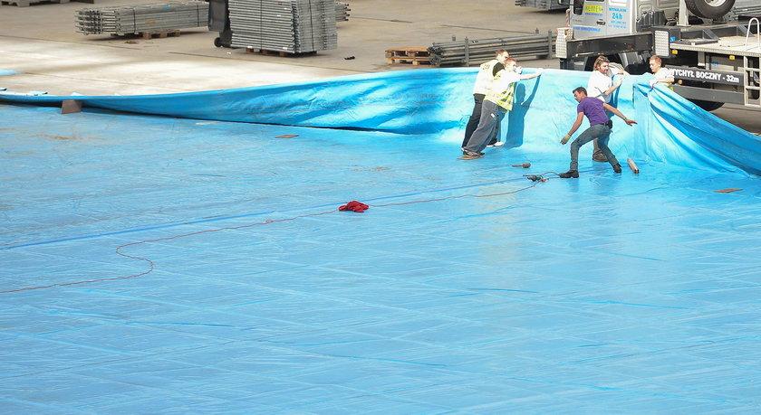 Ustawianie basenu