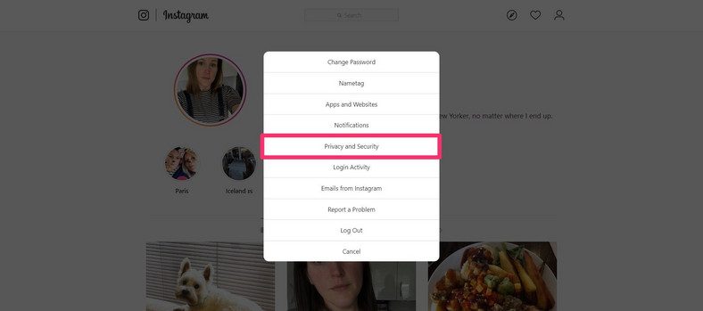 How to make Instagram public