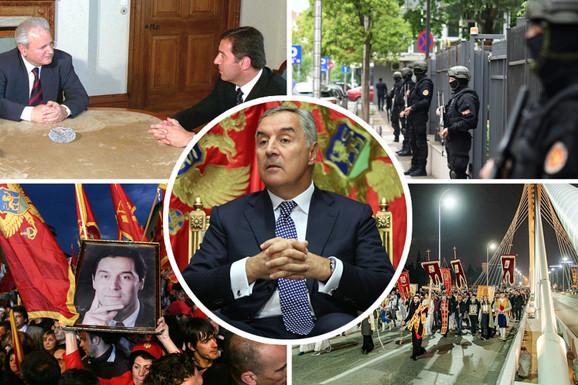 ZAVADI, PA VLADAJ Pet situacija iz decenijske vladavine Mila Đukanovića koje pokazuju kako RAZDORIMA DIŽE SVOJ REJTING
