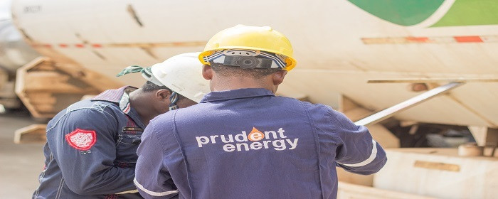 Prudent Energy Limited at a site ( PrudentEnergy)