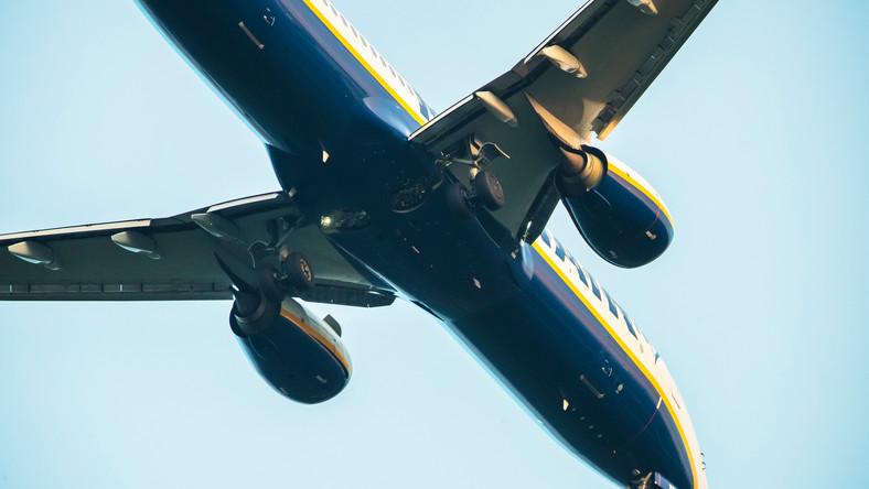 Samolot, którym podróżował Raman Pratasiewicz