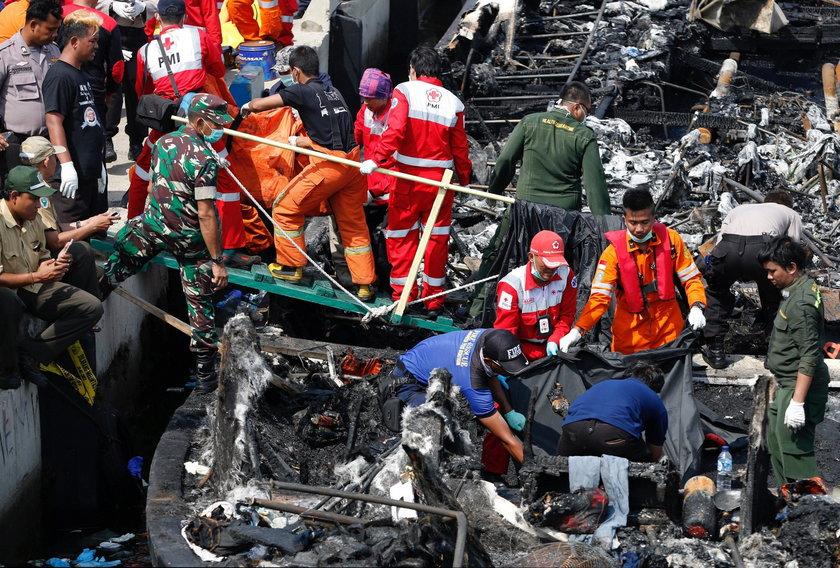 Dramat na promie. W płomieniach zginęły 23 osoby