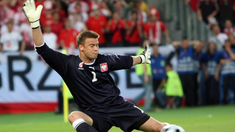 Boruc najlepszym piłkarzem w kadrze