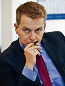 Marek Tejchman, prowadzący debatę zastępca red. nacz. DGP