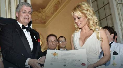 Stefan Černetić i Pamela Anderson