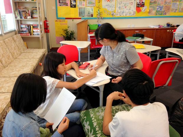Uczniowie z mojej klasy