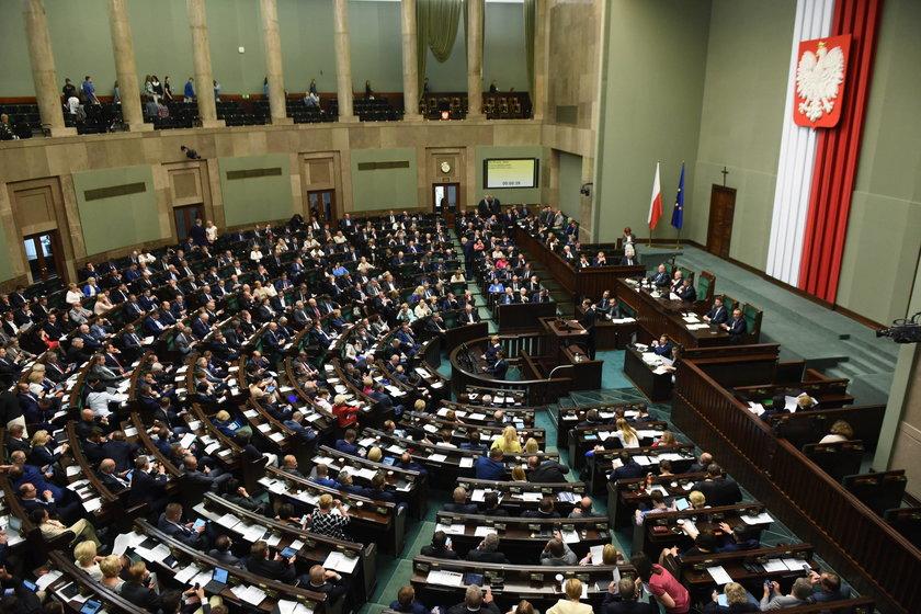 Sejm odrzucił projekt Kukiz'15