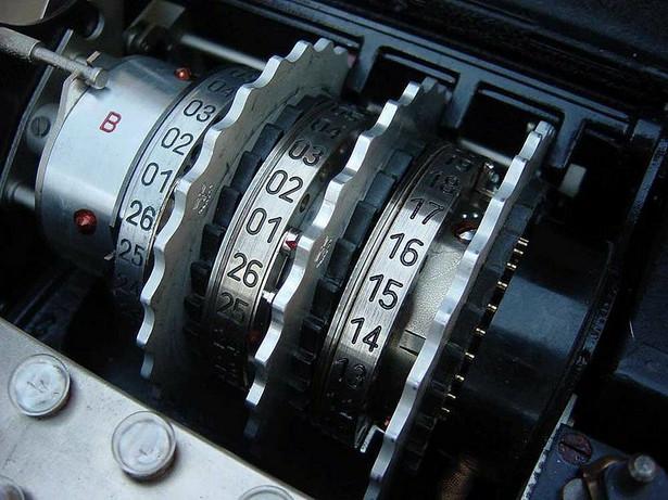 Enigma, fot. Bob Lord / licencja: GFDL