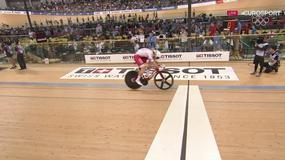 Adrian Tekliński mistrzem świata w kolarstwie torowym