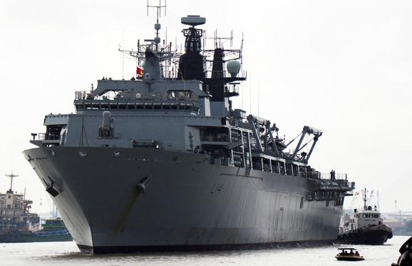 Britanski ratni brod