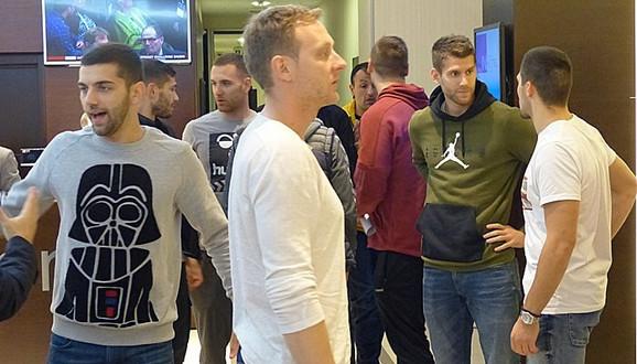 Rukometaši Srbije na okupljanju