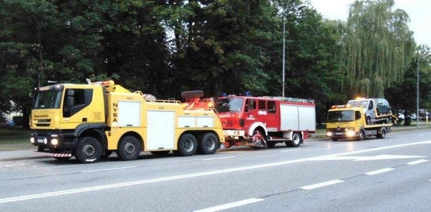 Pijani strażacy jechali na akcję. Spowodowali groźny wypadek