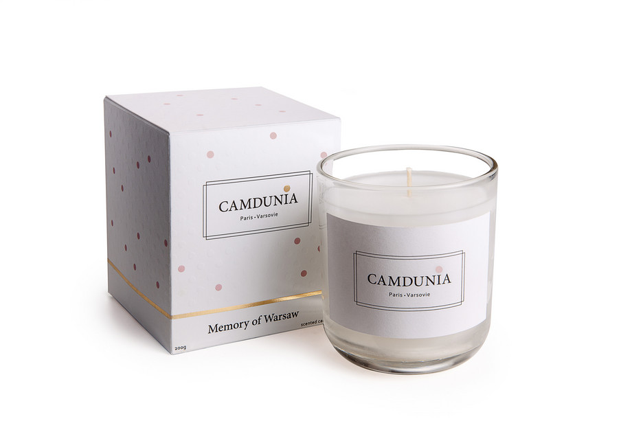 CAMDUNIA CANDLES - IN BOX - LD- WARSAW
