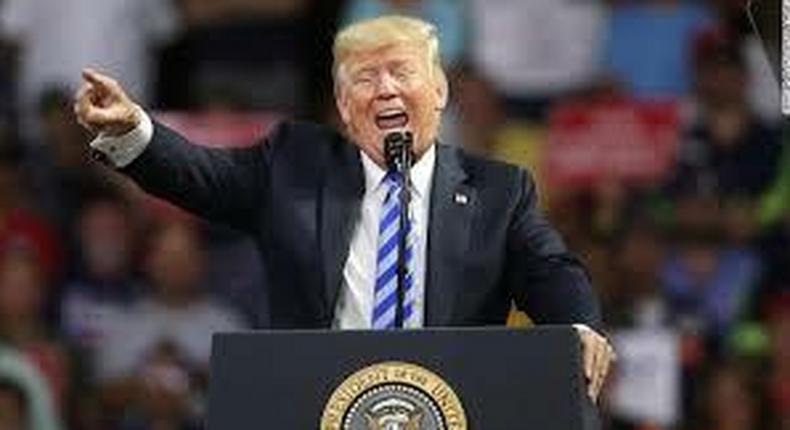 Trump's tweets prove that he is a raging racist