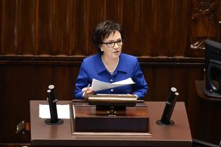 Elżbieta Witek: W najbliższym czasie rząd przedstawi diagnozę stanu państwa