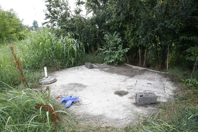 Mesto gde su pronađena tri tela