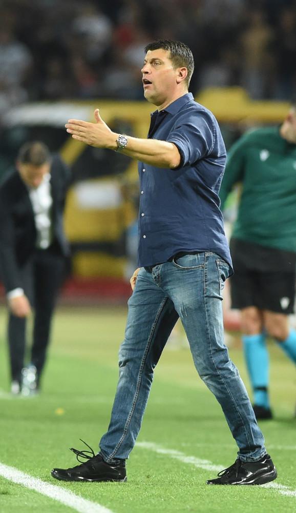 Vladan Milojević na meču FK Crvena zvezda - Jang Bojs