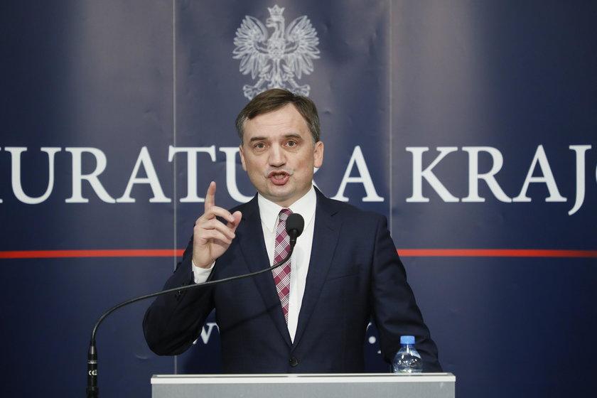 Briefing Zbigniewa Ziobry