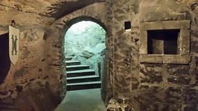 Na zamku Czocha odkryto zagadkową klatkę schodową