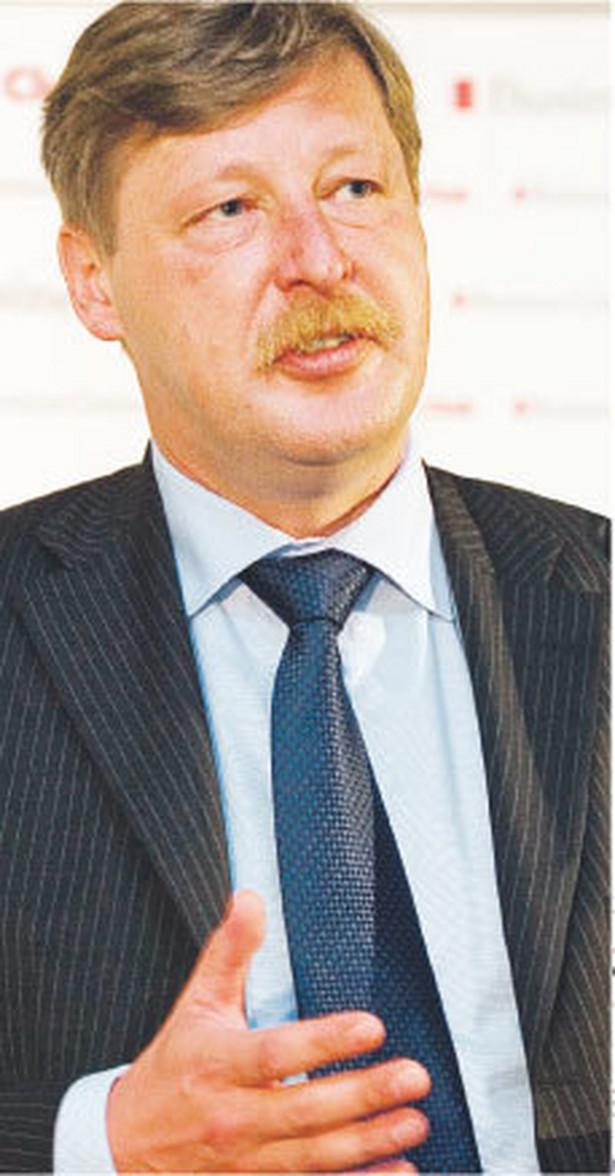 Andrzej Parafianowicz, wiceminister finansów Fot. Wojciech Górski