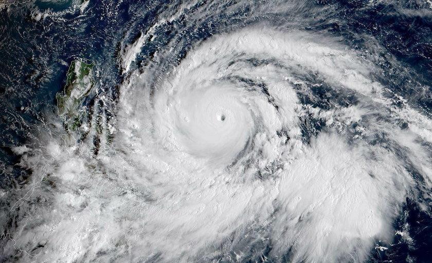 Tajfun Mangkhut zagraża bezpieczeństwu 45 milionów ludzi